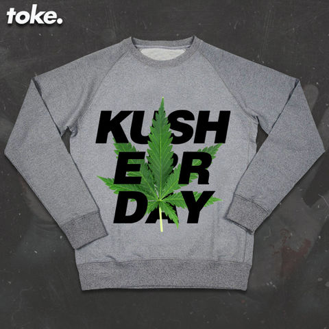 Toke,-,KUSH,ERR,DAY,Sweater,Toke - KUSH ERR DAY - Sweater