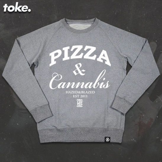 Toke - PIZZA WEED - Sweatshirt - product images  of