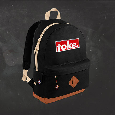 Toke,-,Logo,Backpack,Toke - Logo - Backpack