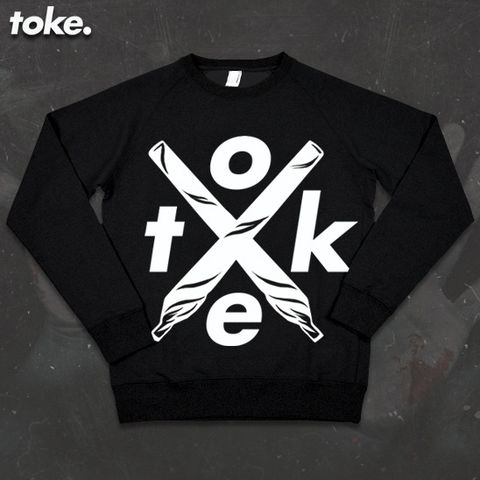 Toke,-,Sweater,or,Hoody,X,Joints,Toke - Sweater or Hoody - X Joints