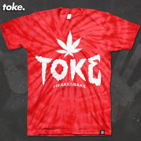 Toke -TOKE SMOKE Type - Tee - product images  of