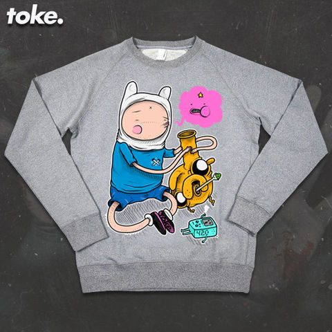 Toke,-,Adventures,with,BONGS,Sweatshirt,Toke - Adventures with BONGS  - Sweatshirt