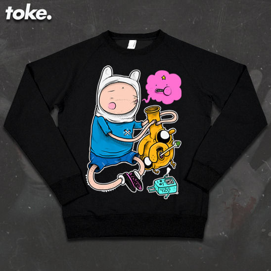 Toke - Adventures with BONGS  - Sweatshirt - product images  of