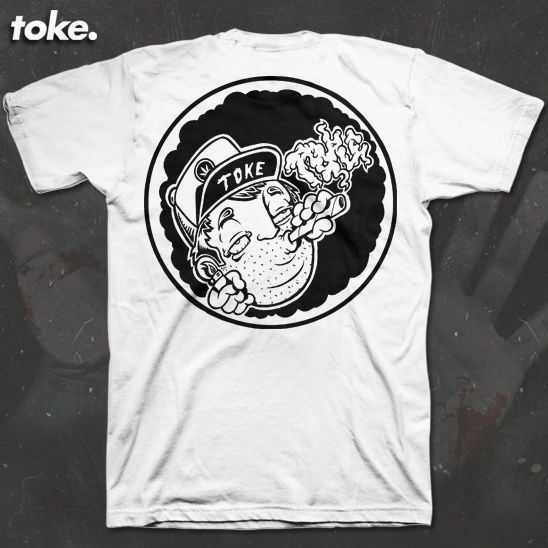 Toke - Hill Billy Toker - Tee - product images  of