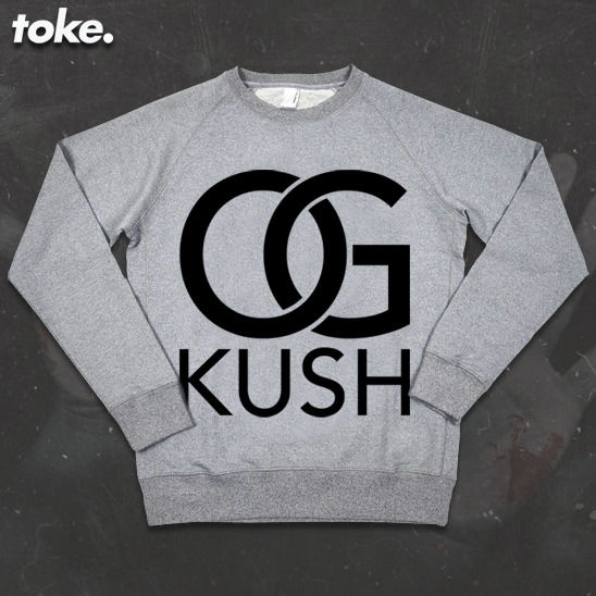 Toke - OG Kush - Sweatshirt - product images  of