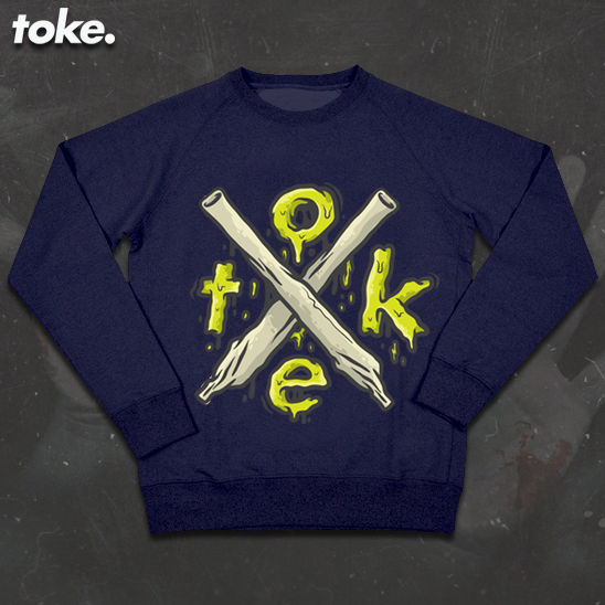 Toke - HalloWEED - X Joints - Sweater - product images  of