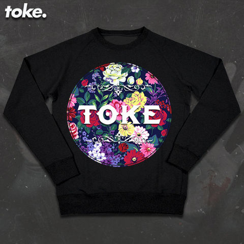Toke,-,Floral,Sweater
