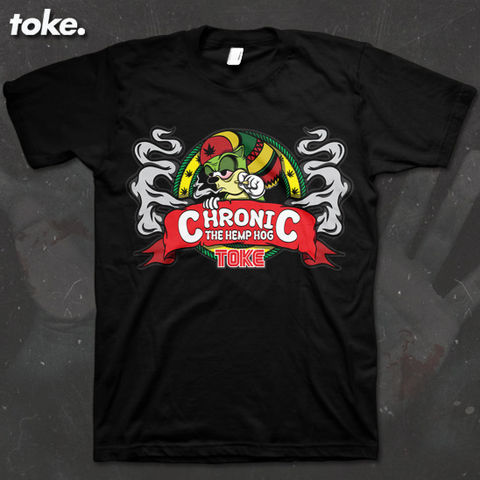 Toke,-,Chronic,Tee