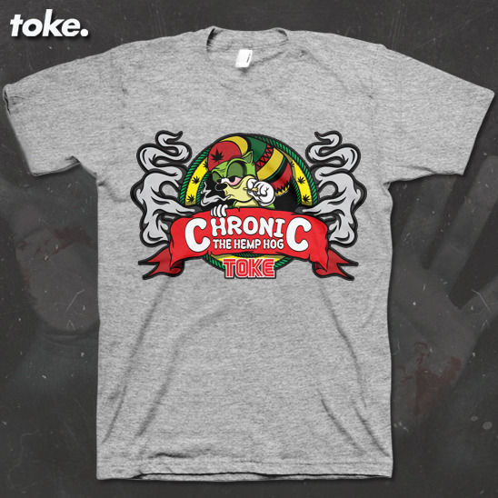 Toke - Chronic - Tee - product images  of