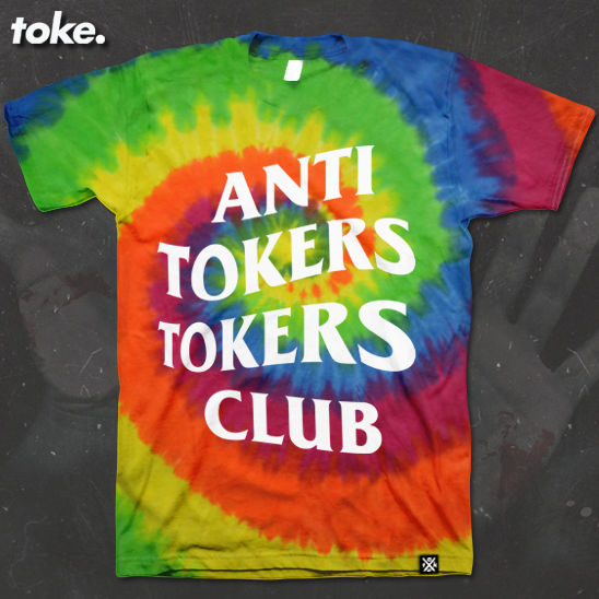 Toke - ANTI TOKERS TOKERS CLUB - Tee - product images  of