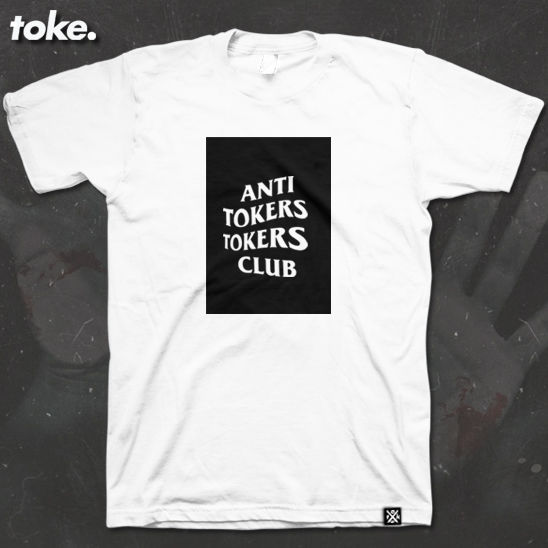 Toke - ANTI TOKERS TOKERS CLUB - BOX Tee - product images  of