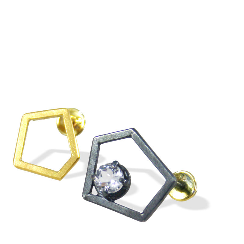 Pentagon Earrings - product images  of