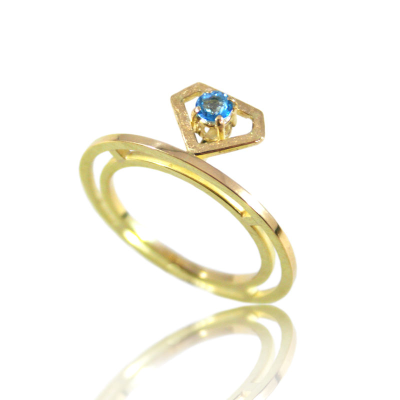 Passion Cut 14k gold Ring - product images  of