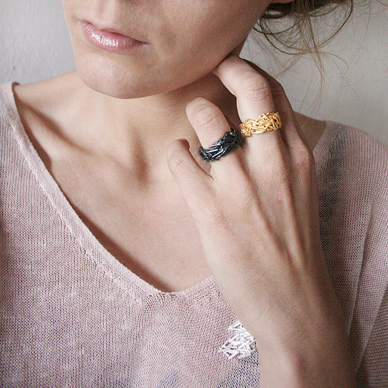 Nest Ring Gold  - product images  of