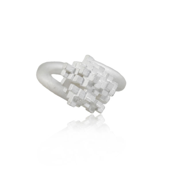 Tetris tall Ring  - product images  of