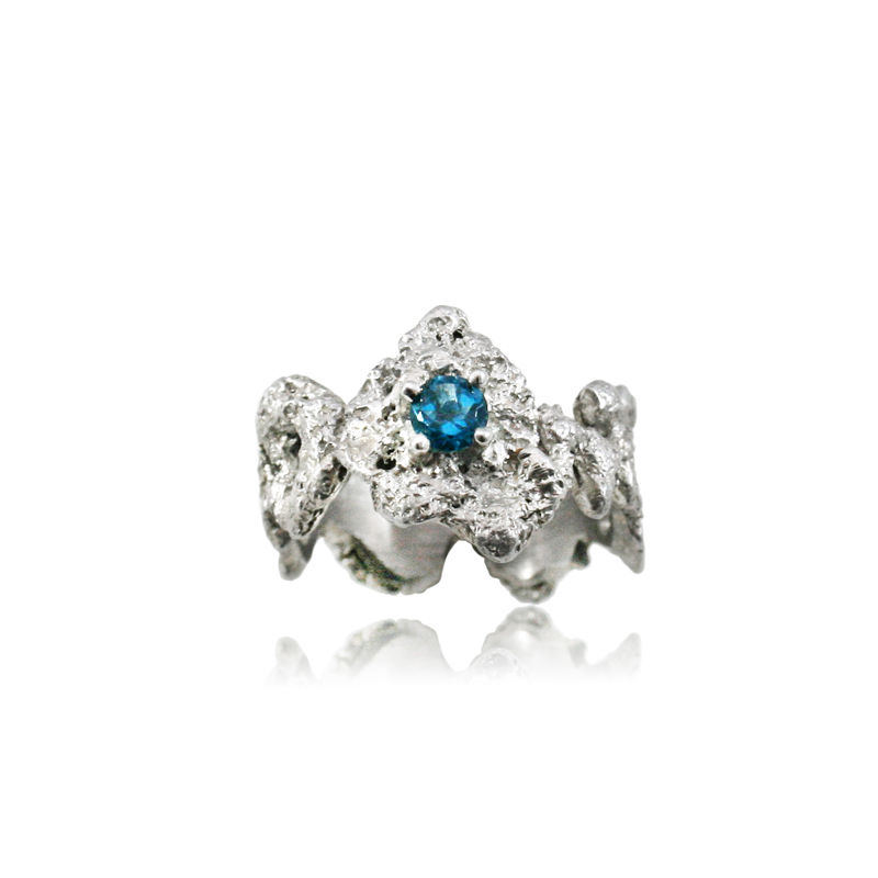 Out of the Sea Ring Rhodium - product images  of