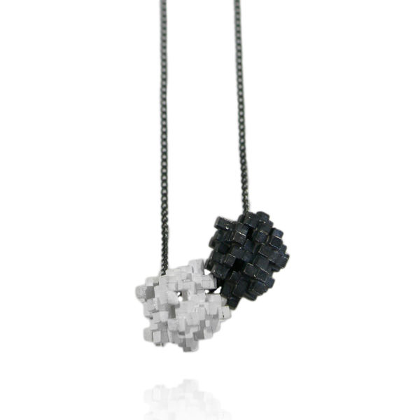 Tetris Double Cube Necklace - product images  of