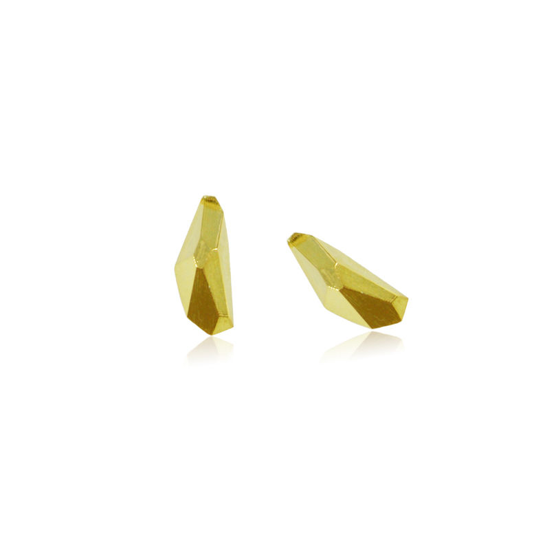 Geometry Earrings Gold - product image