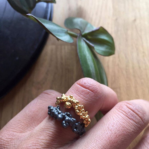 Mammatus ring Gold - product images  of