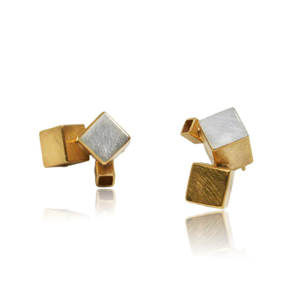 Fujimoto Earrings Gold - product images  of