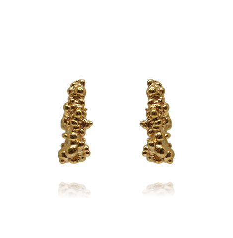 Mammatus,Earrings,Gold