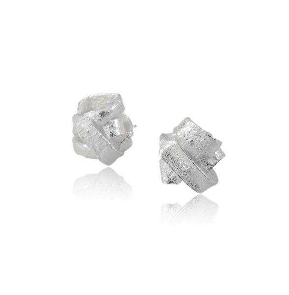 Algae Earrings Silver - product images  of