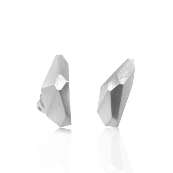 Geometry Earrings Silver - product image