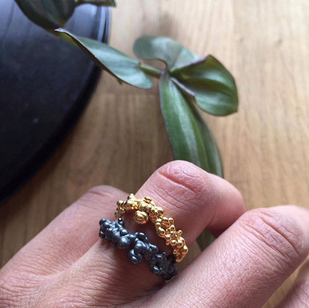Mammatus ring Black - product images  of