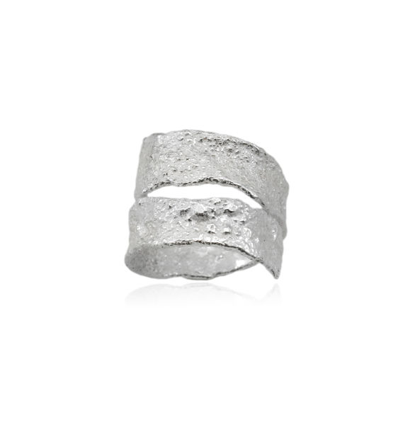 Algae Ring Silver - product images  of