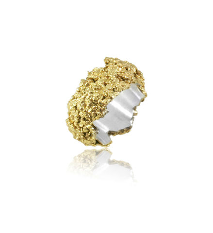 Amaranth,Ring,Gold,Amaranth ring, silver ring, organic silver ring, natural silver ring, flower ring, flower jewelery