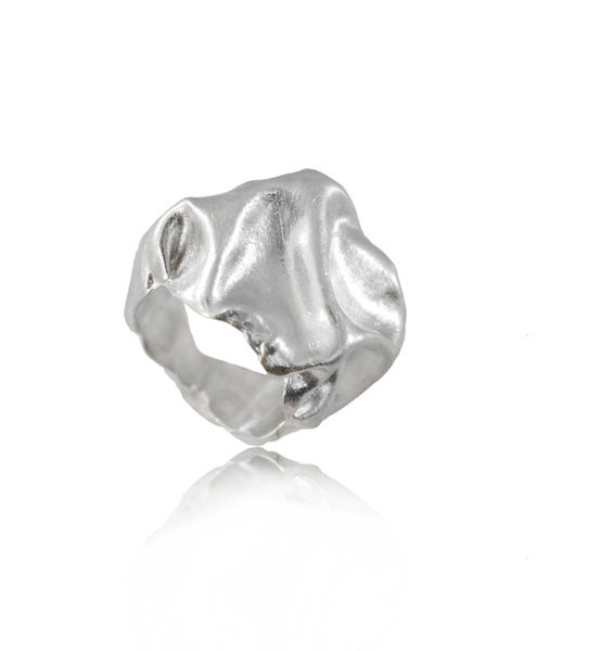 Gniot Ring Silver - product images  of