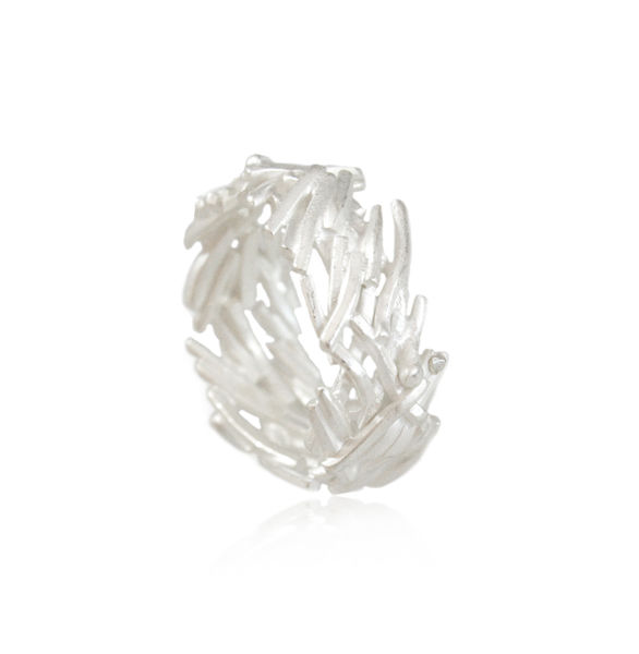 Nest Ring Silver - product images  of
