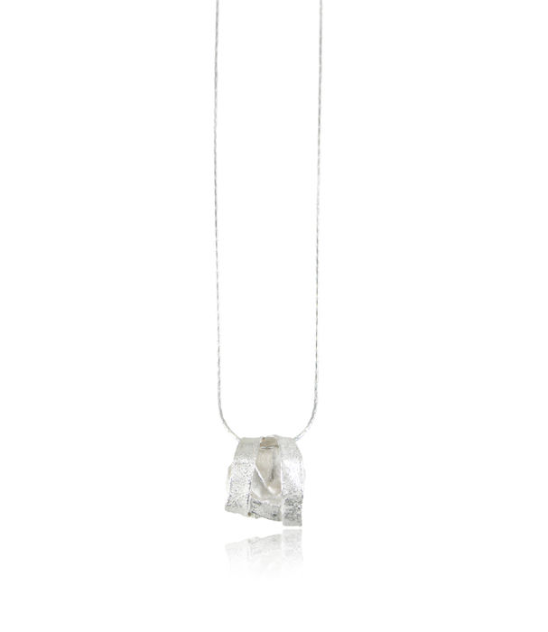 Algae Necklace Silver - product images  of