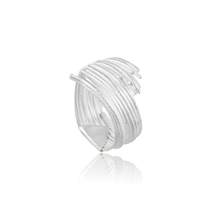 Grass Ring Silver - product images  of