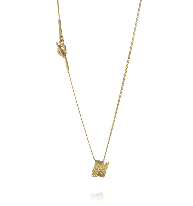 Grass necklace Gold - product image