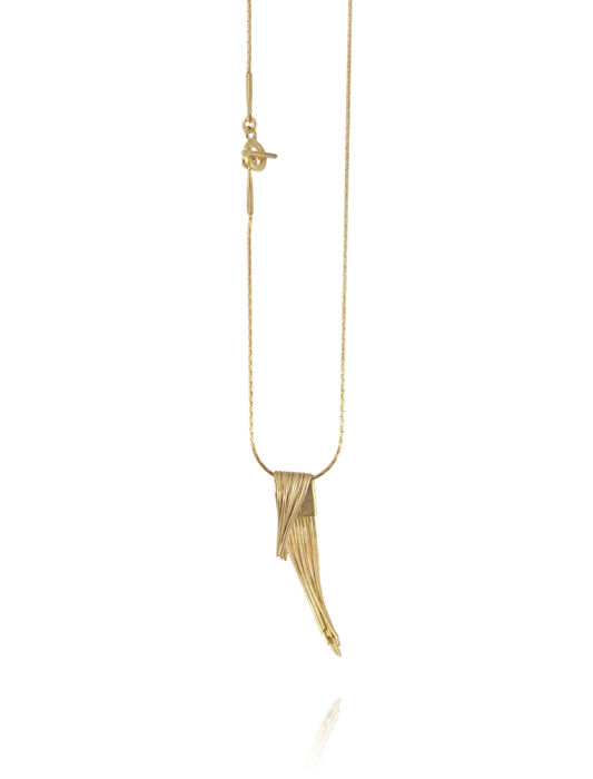 Grass long necklace (Different colors) - product image
