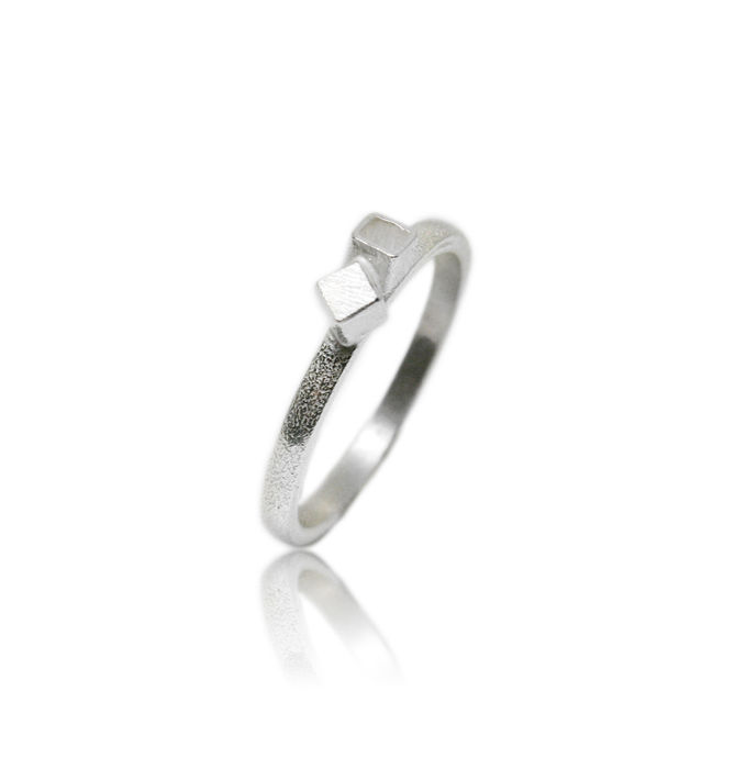 Fujimoto small Ring Silver - product images  of