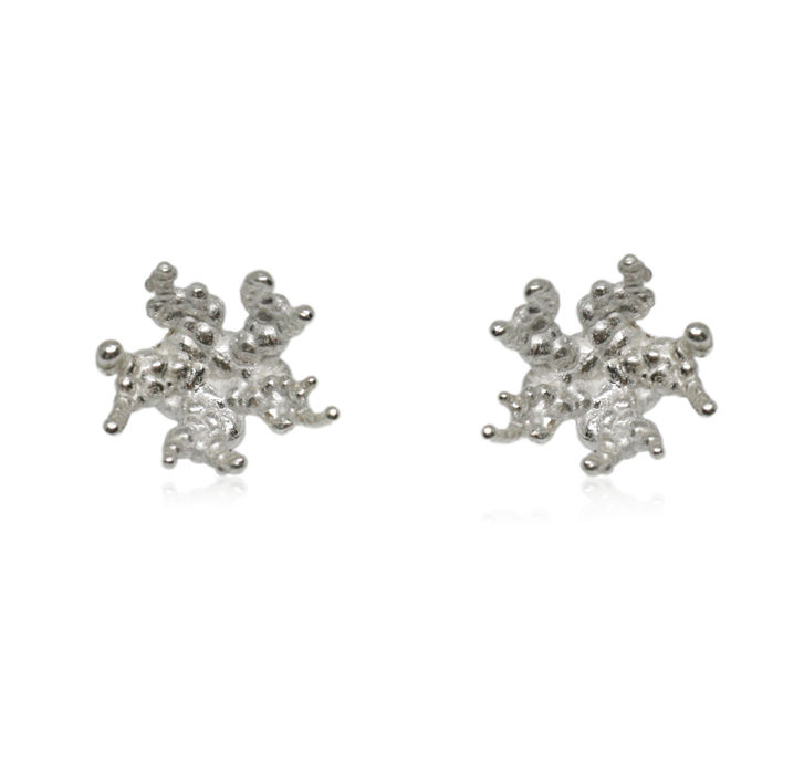 Coral reef earrings Silver - product images  of