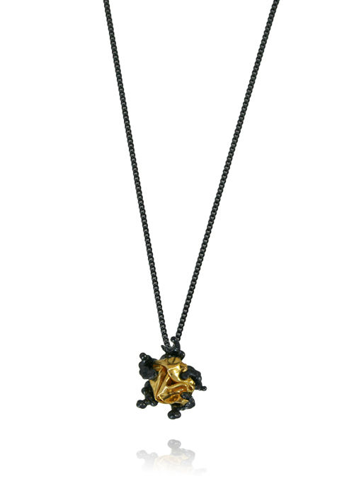 Naphta Necklace Black & Gold - product image