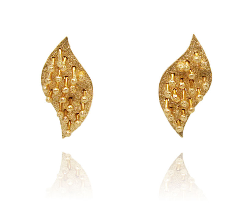 Mariposa Earrings Gold - product images  of