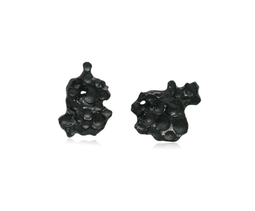 Pome Earrings Black - product images  of