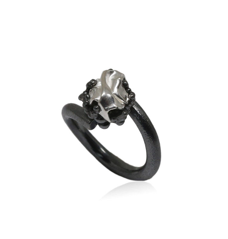 Naphtha Ring Black & Silver - product images  of