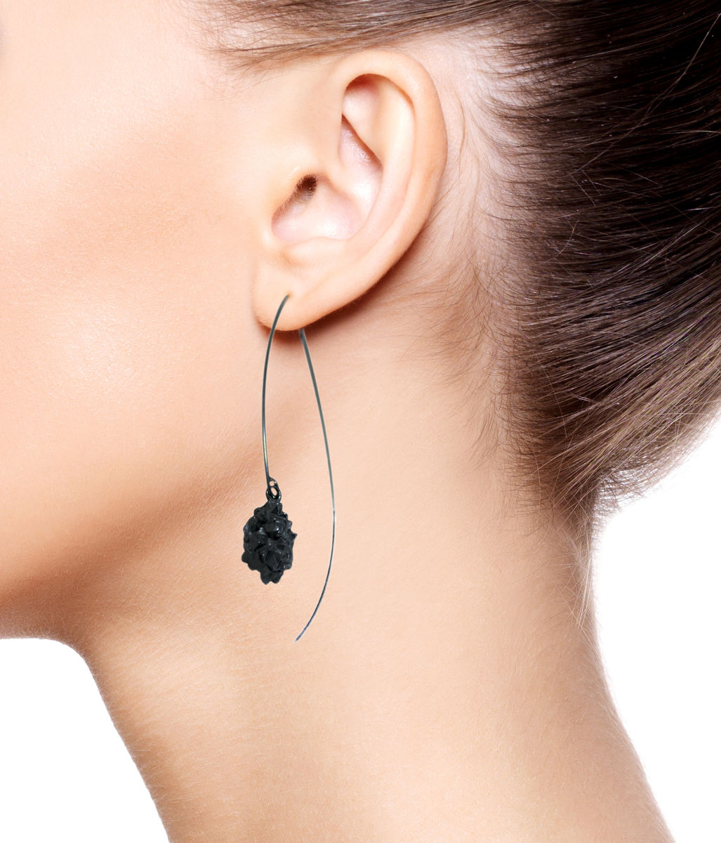 Mordor Long earrings Black - product images  of