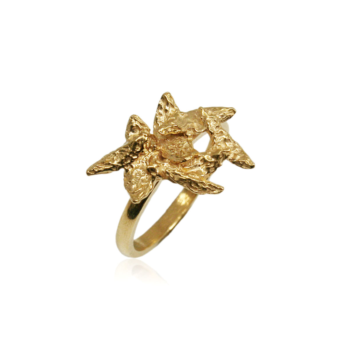 Flake Ring Gold - product image