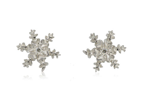 Snowflake,Earrings,(Different,Colors),snowflake, snow, snow jewellery , snow earrings, earrings, winter, winter jewellery , white earrings, silver earrings