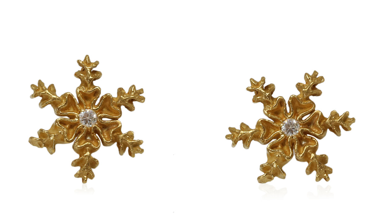 Snowflake  Earrings (Different Colors) - product images  of