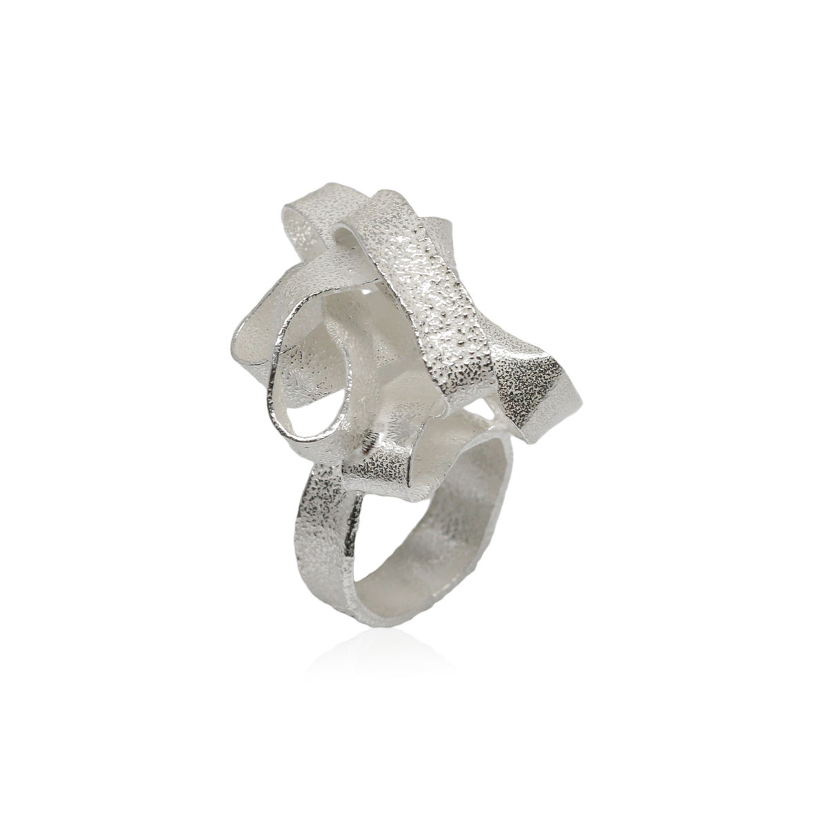 Algae Big Ring Silver - product images  of