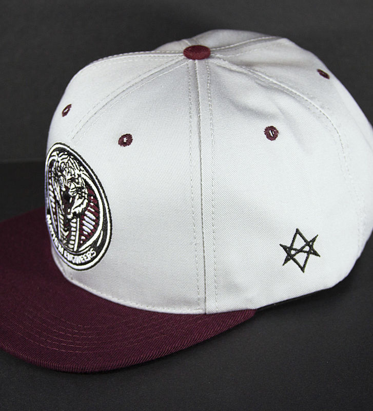 Mayhem Engineers Maroon Snapback - product images  of