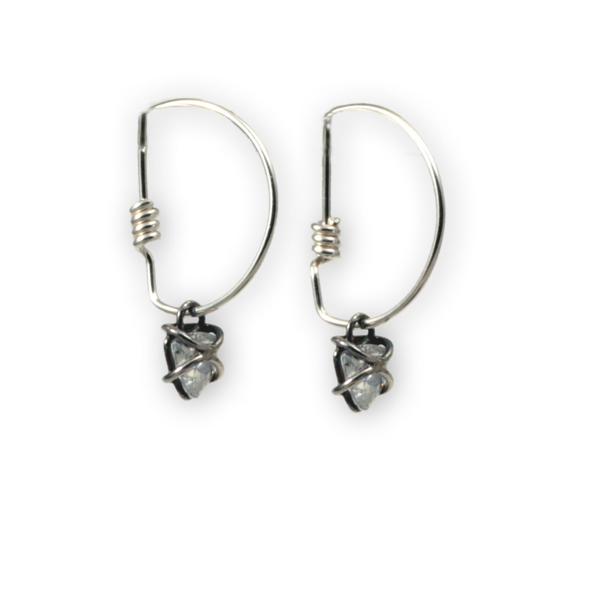 XTrillion.Coil Hoop Earrings - product image
