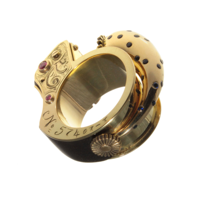 Music Box Ring by Anastasia Young